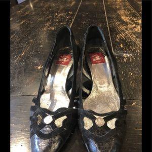 Botticelli/Women's/Size 36/6/ Black/Suede/Leather